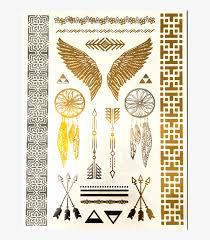 Earthly Tribal Tattoo Sheet Tetování Indiánské Motivy 859x859
