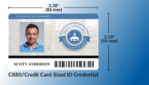 identity card size cr what the difference between cr80 and cr100 id cards