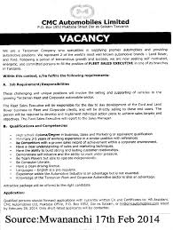 fleet s executive tayoa employment portal job description