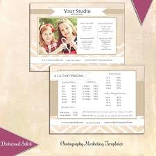 Photography Pricing Template Tutorials Photography Price List Template Photographer Pricing Free