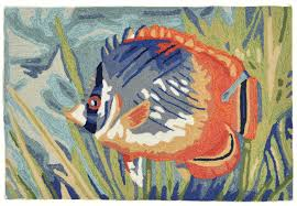 details about area rugs south seas indoor outdoor tropical fish 24 x 36 or 30 x 48