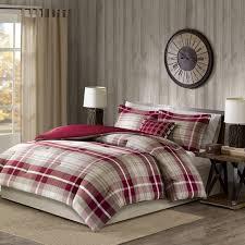 sheridan comforter sets woolrich tan red oversized cotton set free 10
