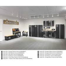 d steel garage wall shelf