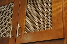 Cabinet Doors With Mesh Inserts | MF Cabinets