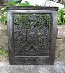 antique fireplace cover