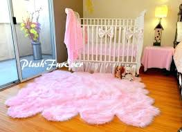 pink sheep skin rug baby pink sheepskin pelt nursery area rug baby girl home decor pink faux sheepskin rug