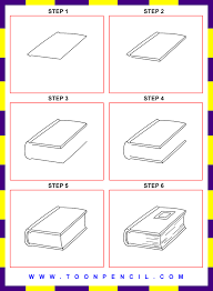 how to draw a book step by step for kids how to draw a book step