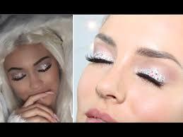kylie jenner snow angel crystal eye makeup