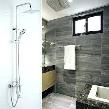waterfall shower faucet bathroom shower faucets wall mount bath waterfall shower faucet mixer rainfall bathroom full waterfall shower faucet
