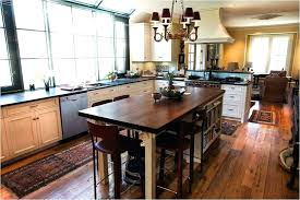 kitchen island table combo beautiful vintage dining