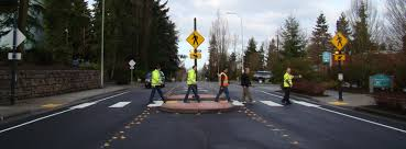 Rrfb Lights Rectangular Rapid Flashing Beacons In Bellevue Streets Are