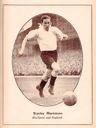 Stan Mortensen, Blackpool 1951   Beyond The Last Man