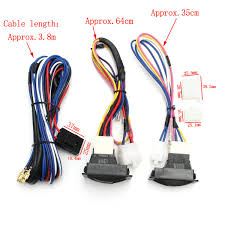 universal 12v power window glass lock rocker lift switch wiring Construction Harness at Universal Wire Harness With Electric Windows
