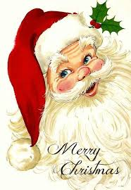 vintage santa claus face clipart.  Clipart Merry Christmas Vintage Santa Face  I Think We Had This As A Cardboard  Cutout Decoration Kid  Those Were The Days On Claus Face Clipart L