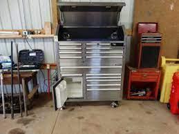 kobalt chest tool box w pioneer stereo