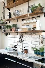 ikea kitchen wall storage wooden open shelves on black brackets ikea kitchen wall unit storage