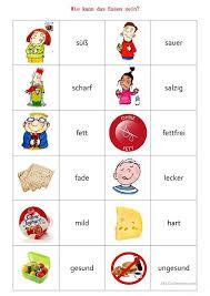 Weihnachten memory spiel deutsch daf arbeitsblatter. Memory Spiel Wie Kann Das Essen Sein Deutsch Lernen Adjektive Daf