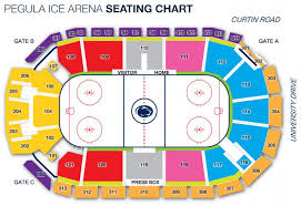 Credible Penn State Hockey Seating Chart Nittany Lion