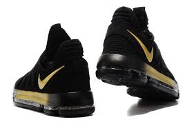 nike basketball shoes 2017 kd. 2017 nike kd 10 x ep in black gold basketball shoes-3 shoes kd l