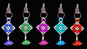 Beaded Keychain Patterns Awesome How To Make Crystal Beads Key Chain Beaded Keychains You Can