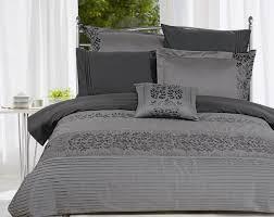 image of dark duvet cover grey
