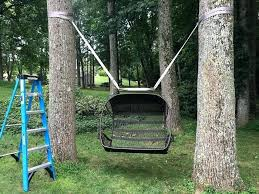 wooden tree swing australia hanging kit between 2 trees not wooden tree swing