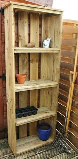 amazing outdoor storage shelf with design wood diy cabinet shed unit and door vertical wicker