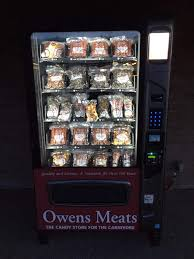 Where To Put My Vending Machine Enchanting My Local Butcher Shop Has A Meat Vending Machine Mildlyinteresting