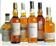 Classic Malts Display Stand THE SIX CLASSIC MALTS OF SCOTLAND from United Distillers review by 77