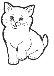 Cats Coloring Page Charming Inspiration Cute Cat Coloring Pages To