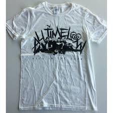 All Time Low T Shirt Design All Time Low Kids In The Dark T Shirt