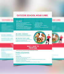 design a flyer for starting a business as out of school hours 7 for design a flyer for starting a business as out of school hours carer