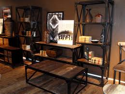 industrial wood furniture. go green industrial wood furniture