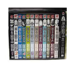 High quality death note gifts and merchandise. Death Note Complete Box Set Volumes 1 13 With Premium Ohba Tsugumi Obata Takeshi 8582070111111 Amazon Com Books