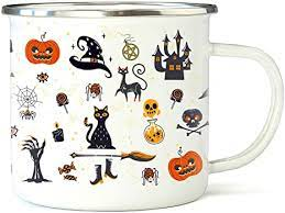 (11077328) 4.7 out of 5 stars. Amazon Com Camping Vintage Style Flat Bottom Coffee Mug Halloween Autumn 2021 Camping Mug Vintage Halloween Metal Coffee Mug Autumn Campfire Metal Mug Spooky Halloween Season Coffee Mug Coffee Cups Mugs