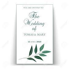 Wedding Invitation Template Greenery Wedding Invitation Template Printable Wedding Invites