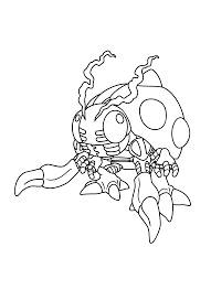 Digimon Coloring Pages 257 Png 2400