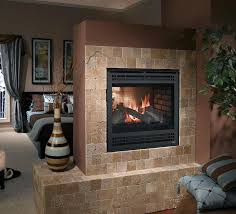 two sided ventless gas fireplace see through gas fireplace multi sided vent free gas fireplace