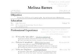 Resume Templates With No Work Experience Amazing High School Student Resume Format With No Work Experience Examples