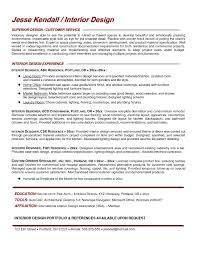 Interior Designer Resume Sample Interior Design Resume Sample Luxury Interior Design Resume Examples 19