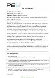 Managing Director Job Description Newest Project Manager Duties Program Director Job Description 12