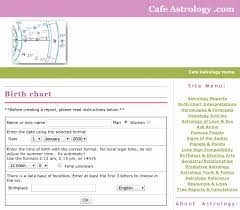 59 Luxury Cafe Astrology Birth Chart Calculator Home Furniture