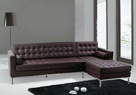 modern leather sofas. Modern Leather Sectional Sofa Set Luxurious Living Room Design With Brown And Wooden Table Sofas D