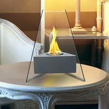 tabletop fireplace indoor bio ethanol inside table top designs 12