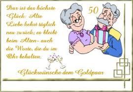 Glückwünsche Goldene Hochzeit