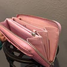 Coach Bags - COACH Accordion Zip Wallet  Pink Waverly Hearts