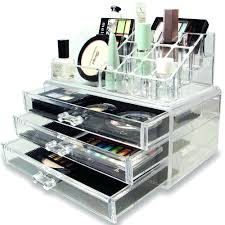 Acrylic Makeup Cosmetic Jewelry Organizer Drawer Clear Multipurpose Box  With Drawers India Large For Sale. Acrylic Makeup Organizer Storage  Container ...