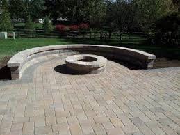 patio with fire pit. Columbus OH Paver Patio With Fire Pit R