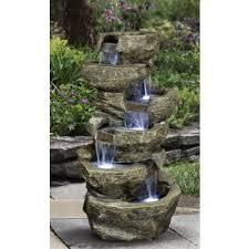 Small Garden Fountains For Home And GardenSolar Garden Fountain