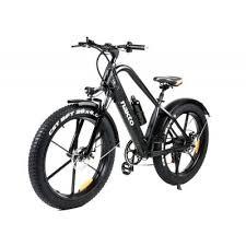 Nakto Black <b>Electric</b> Bicycle 26in 500W 48V 12Ah Fat Tire 6-Speed ...